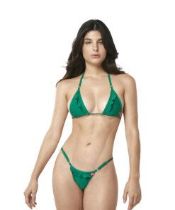 Lucky Micro Bikini by OH LOLA SWIMWEAR