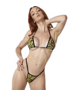 Sexy Jaguar Micro BIkini by OH LOLA SWIMWEAR