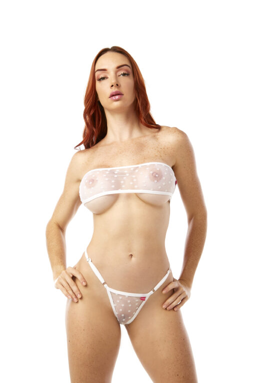 Bretella Bandeau Bikini by OH LOLA SWIMWEAR