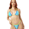 Ocean Drive Micro Bikini by OH LOLA SWIMWEAR