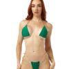 Lucky String Micro Bikini by OH LOLA SWIMWEAR