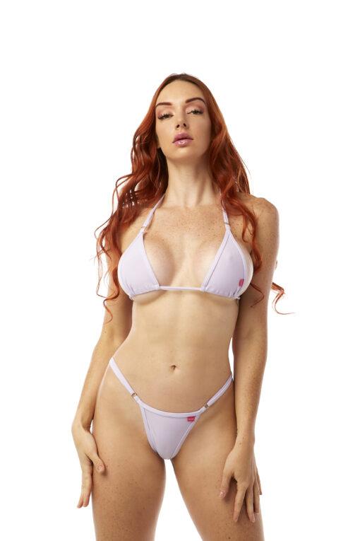 Lavender Micro Bikini by OH LOLA SWIMWEAR