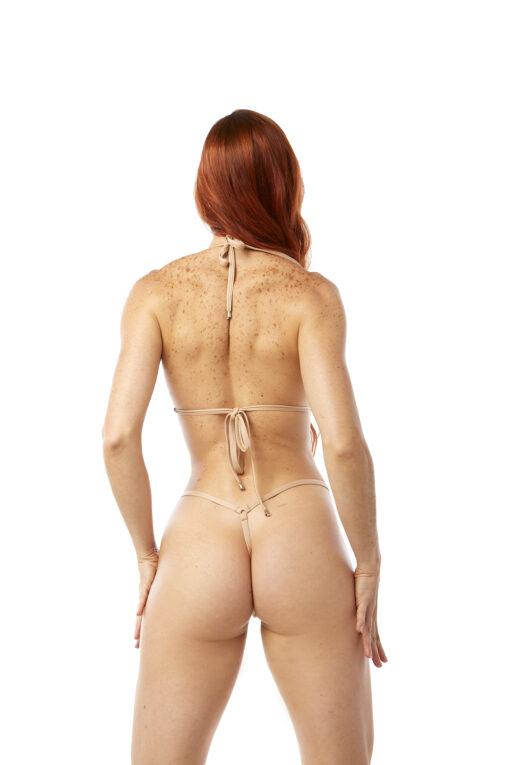 Wild Thing Micro Bikini by OH LOLA SWIMWEAR - Side Adjustable V-String Bottom