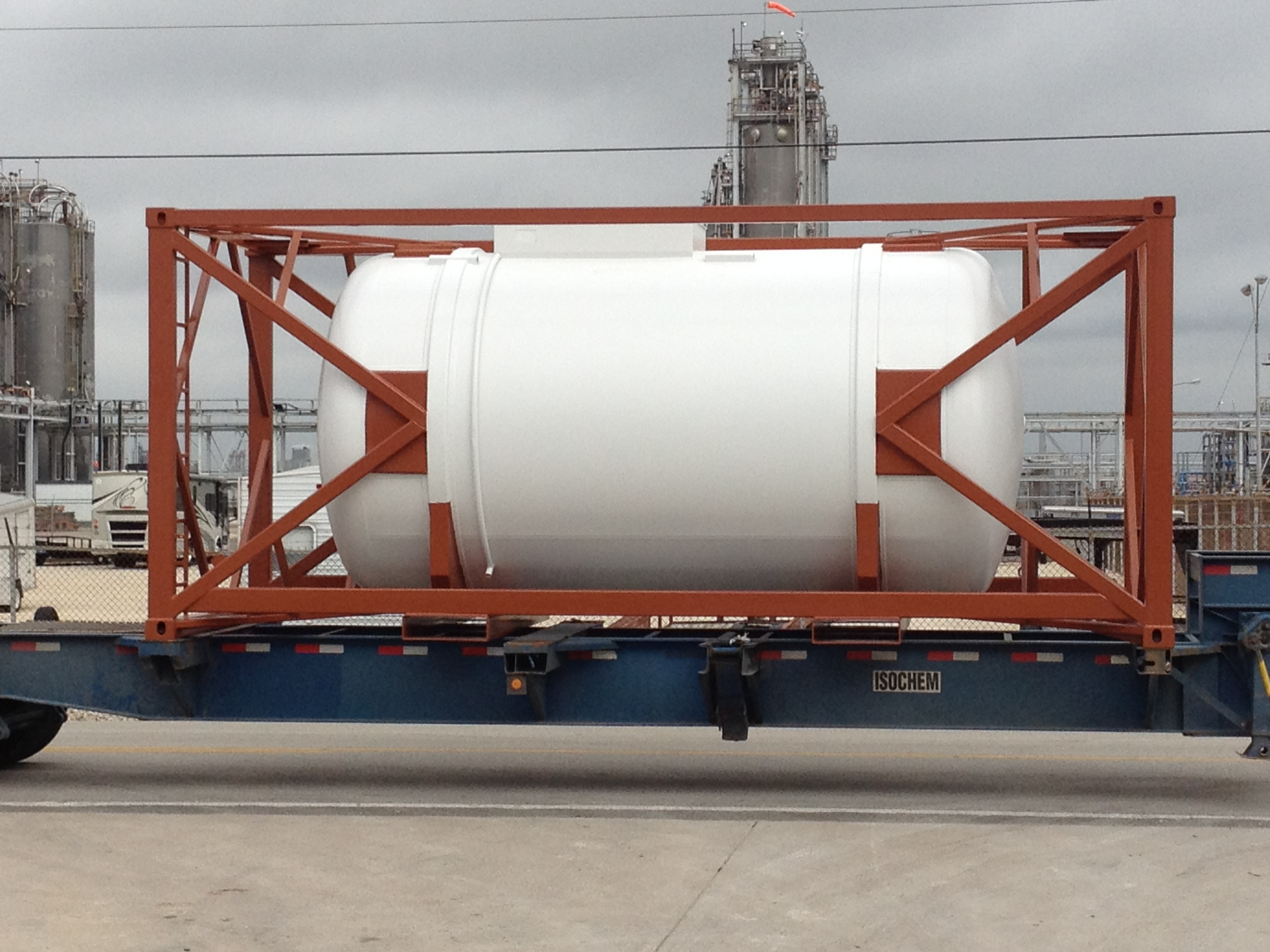 TANK CONTAINERS - Tank Service Inc
