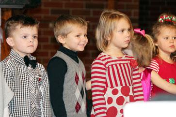 Preschoolers at Musical