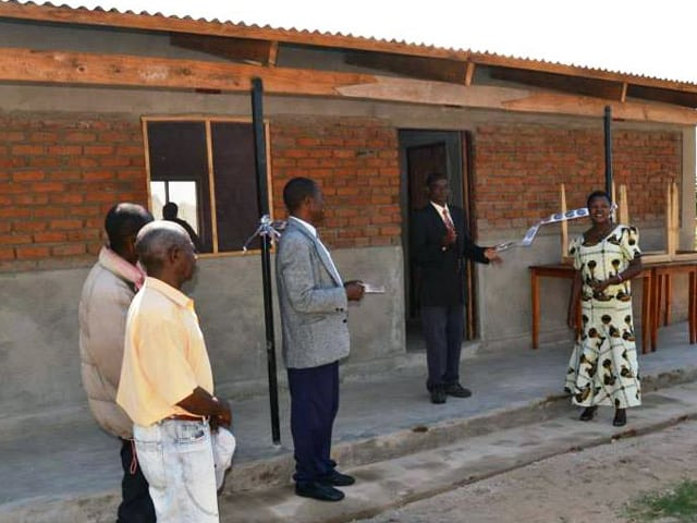 Determined to Develop New Library at Thunduti Community Secondary School 1