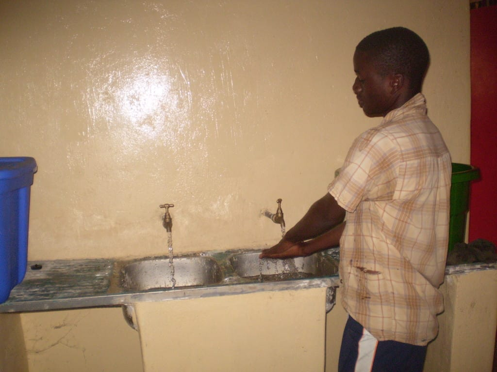 Determined to Develop now has running water 9