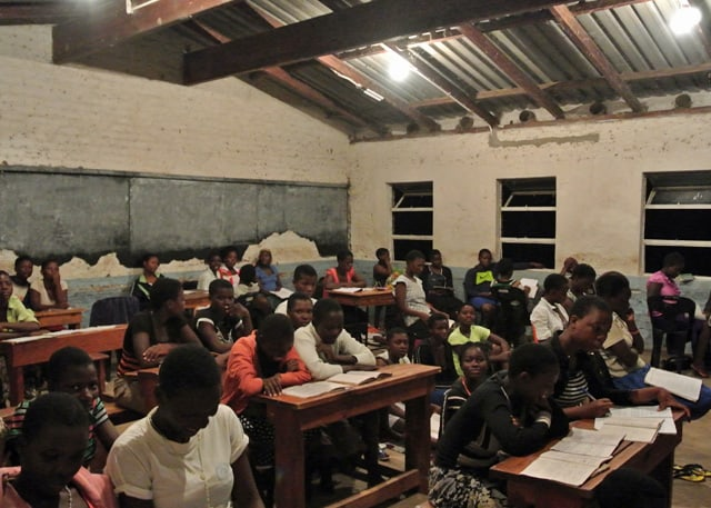 Khwawa High School Gets Electricity With Help From Determined to Develop 1