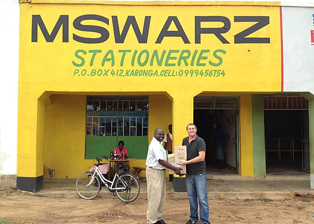 Malawian Businessman Donates to Determined to Develop