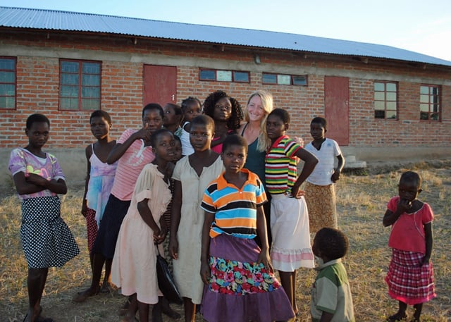 University of Livingstonia (Malawi) Interns Assist Determined to Develop 3