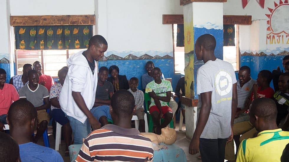 Determined to Develop Malawi CPR Class 3