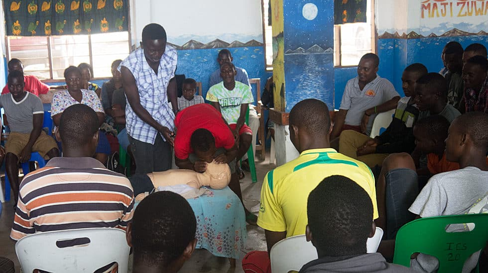 Determined to Develop Malawi CPR Class 4