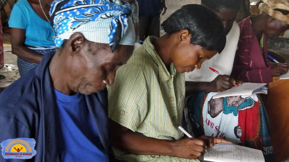 Determined to Develop Malawi Adult Literacy 3
