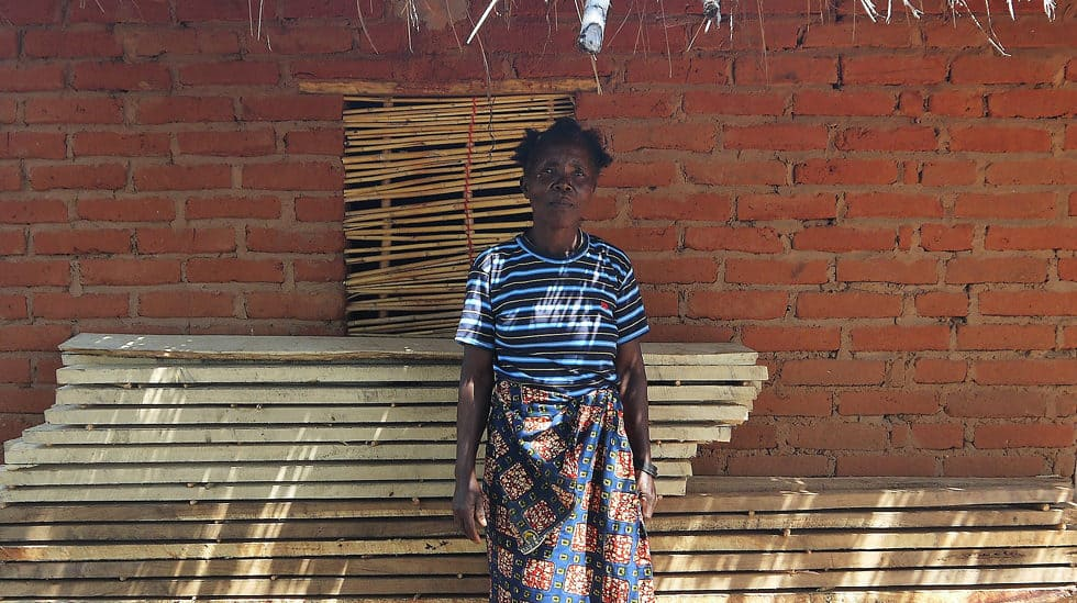 Determined to Develop Malawi Goat Lady 2