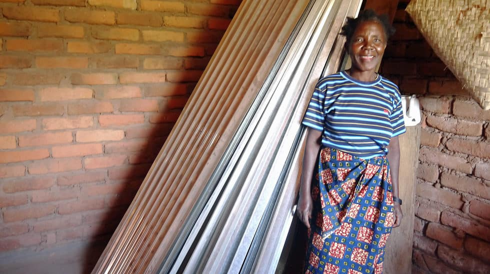 Determined to Develop Malawi Goat Lady 3