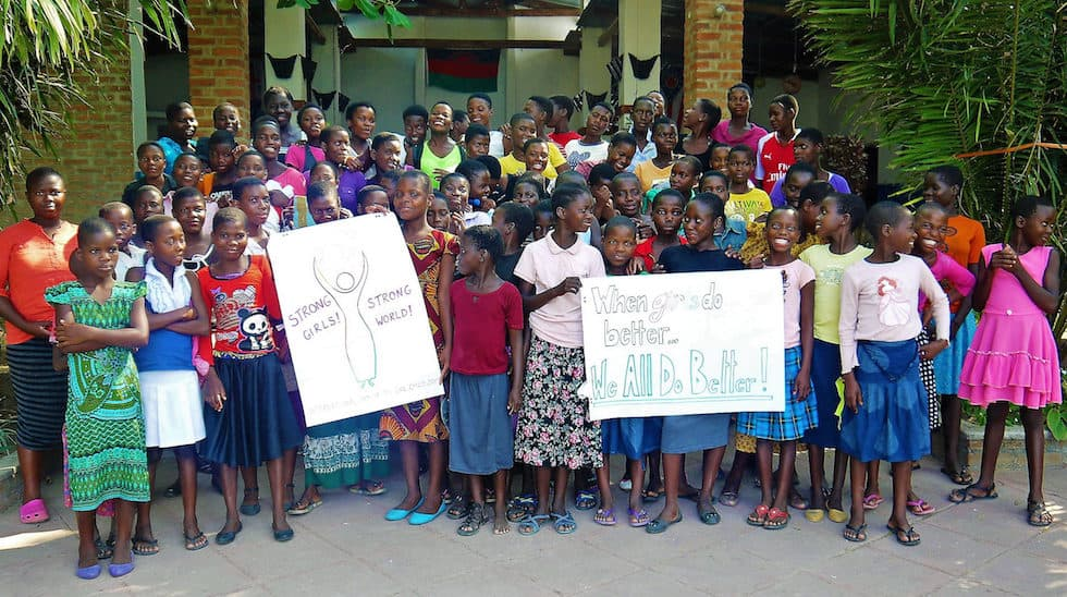 Determined to Develop Malawi International Day of the Girl