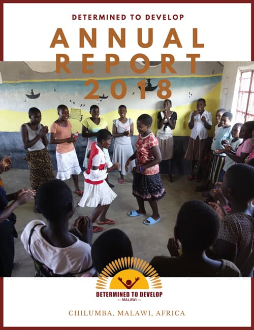 Determined to Develop Malawi 2018 Annual Report