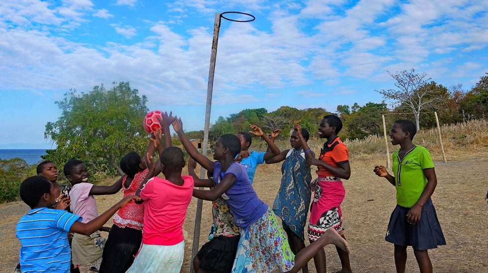 Determined to Develop Malawi Netball