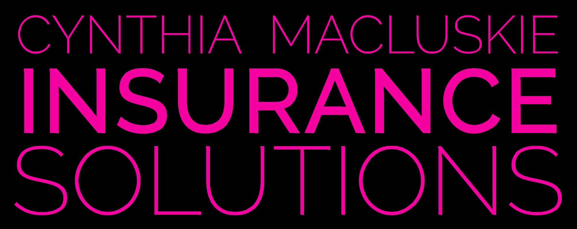 Cynthia Macluskie Insurance Solutions