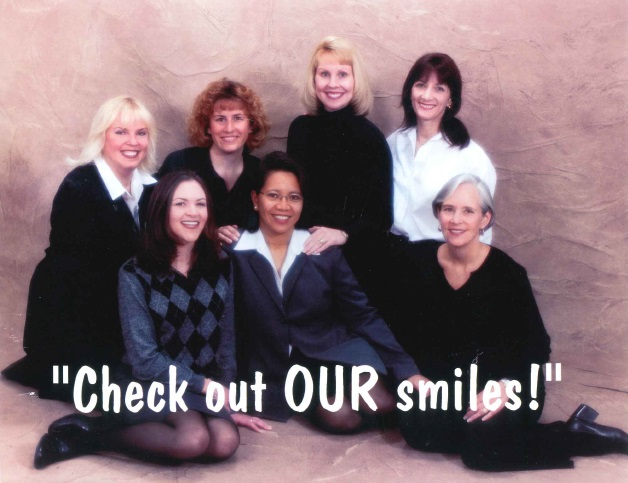 picture of dental staff in 2001