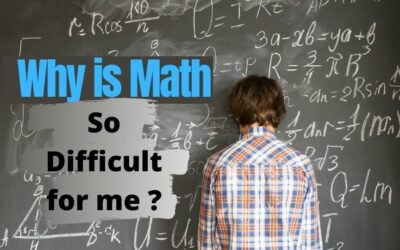 Why math is so difficult for me