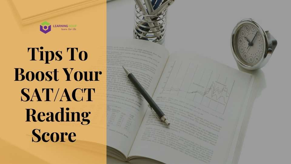 tips to boost your SAT/ACT score