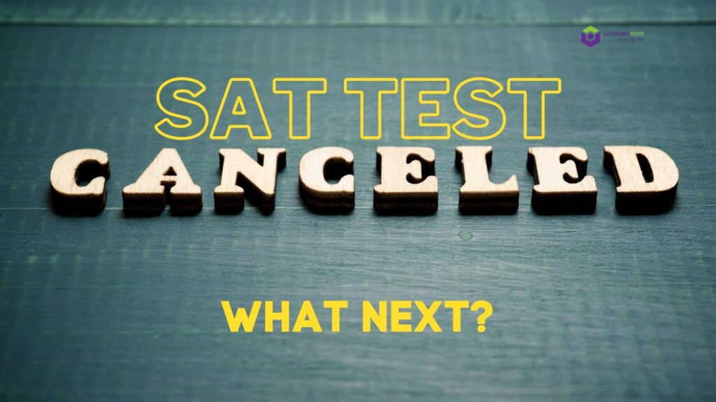 sat test canceled