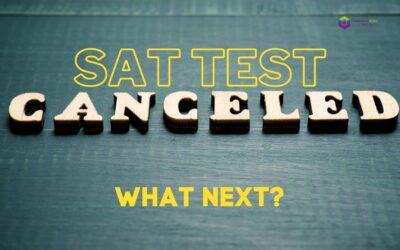 sat test canceled