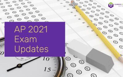 AP 2021 Exam Updates