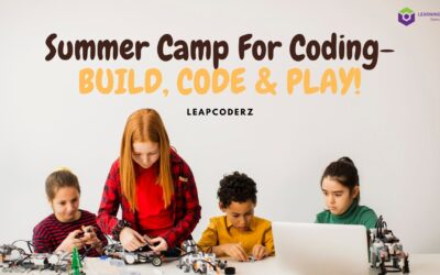 Summer Camp For Coding-BUILD, CODE & PLAY!