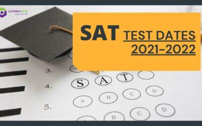 SAT TEST DATES 2021-2022)
