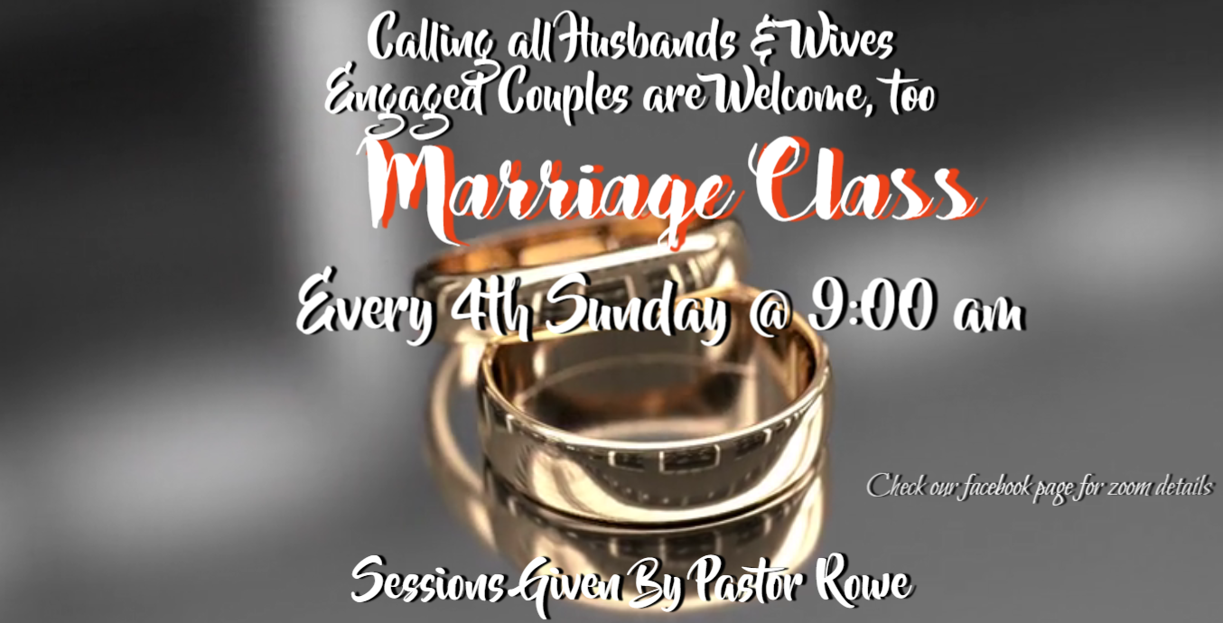 marriage class 021621