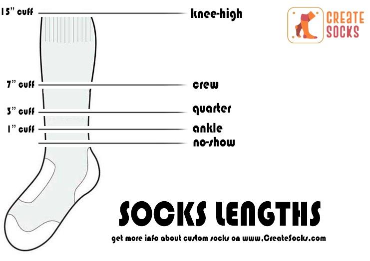 socks lengths