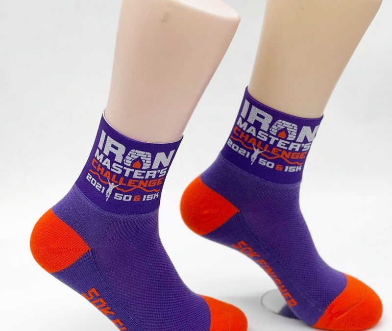 Custom Printed Socks for Race