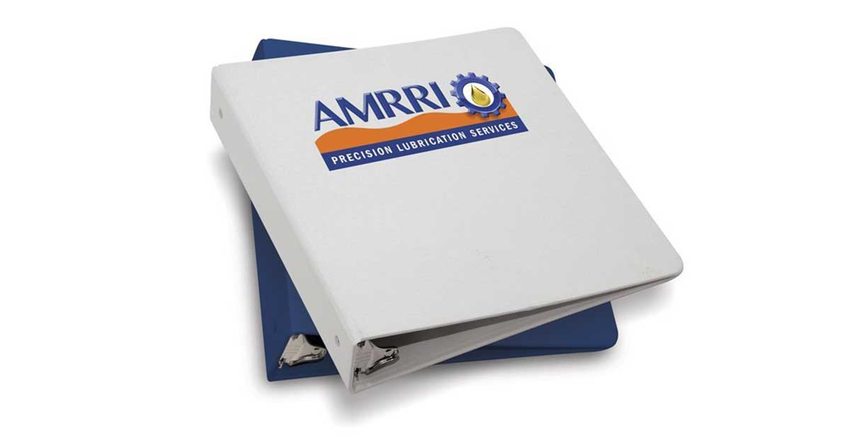 machine lubrication education classes schedule AMRRI