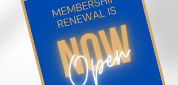 Membership Renewal is NOW OPEN!!