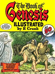Robert Crumb book cover THE BOOK OF GENESIS