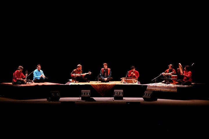 Master Musicians of Persian Music (photo by Mohammad Kheirkah)