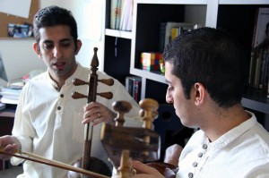Kaveh and Siavash Haghtalab (Photo courtesy of Pantea Tofangchi)