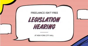 Freelancers Union Legislation Hearing logo