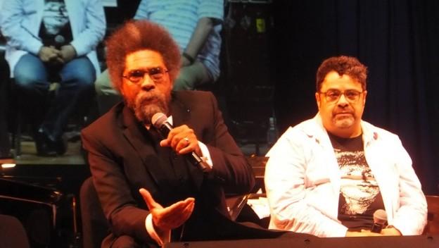Arturo O'Farrill and Dr. Cornel West
