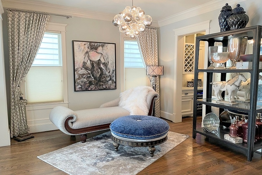 SITTING AREA - Kaleidoscope Studio of Interior Design