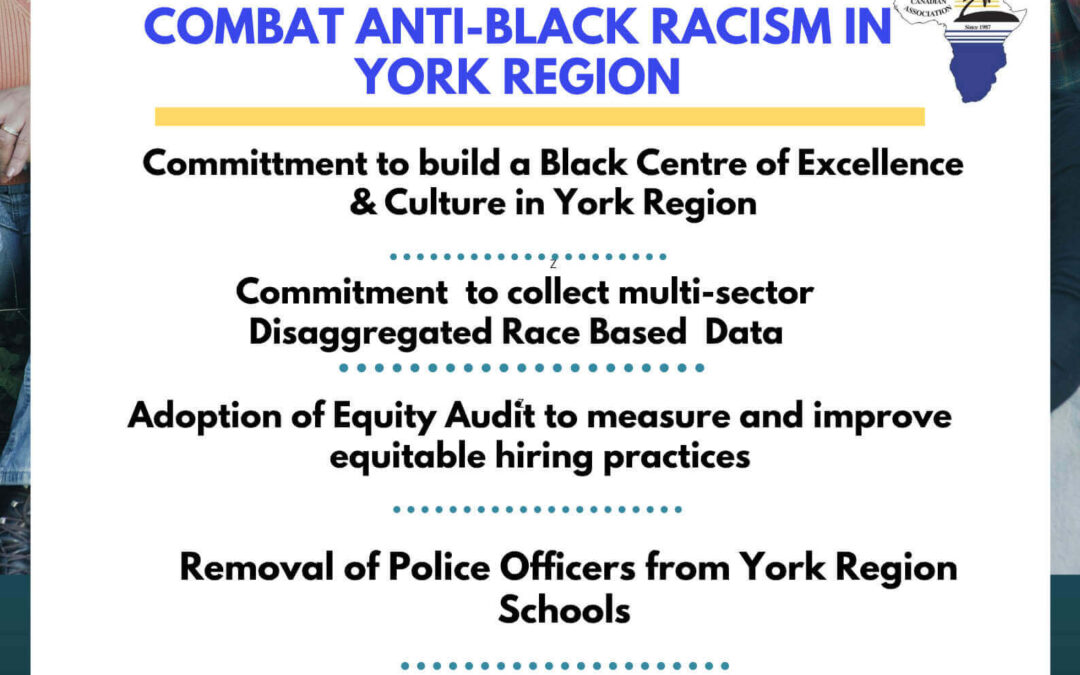 Immediate Calls to Action to Combat Anti-Black Racism