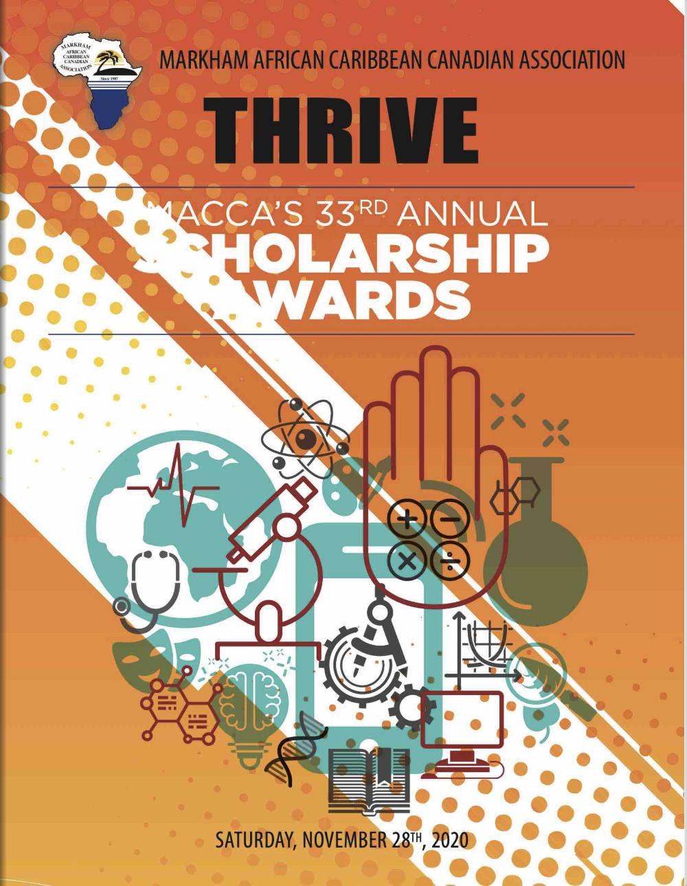 MACCA's 33RD Annual Scholarship Awards Flip Book