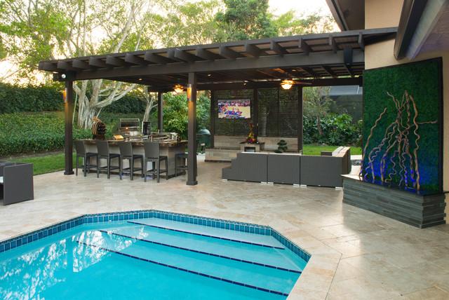 florida outdoor living space