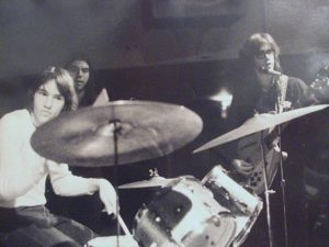 Jack Mitchell on the drums for Stycks