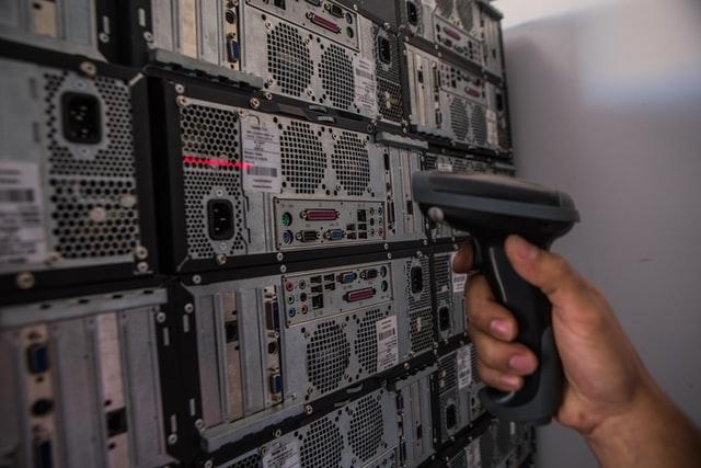 e-waste recycling process