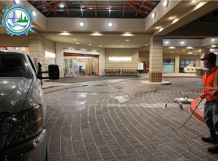 parking garage cleaning in San Ramon