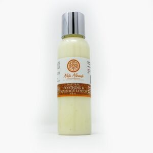 Soothing and massage lotion