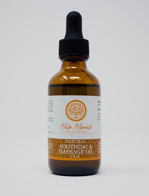Soothing and massage oil